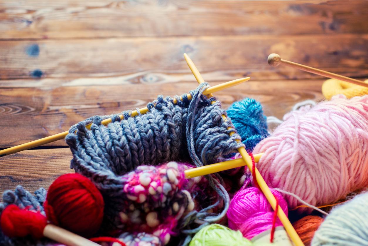 Картинке о вязании